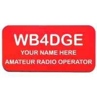 Medium Amateur Radio Operator Badge