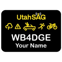 Large UtahSAG Badge